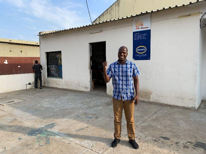 Visit ISPG to SME Sebastiao Jorge Mahunguane, +Forte
